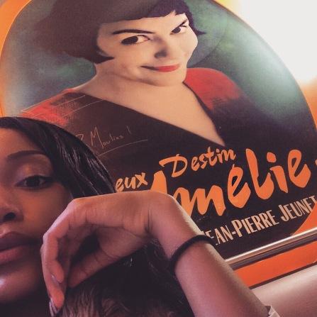 Amelie (Audrey Tautou) is amazing
