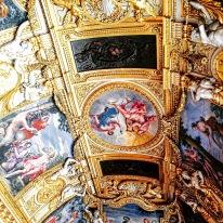 Louve Museum. Amazing ceilings!