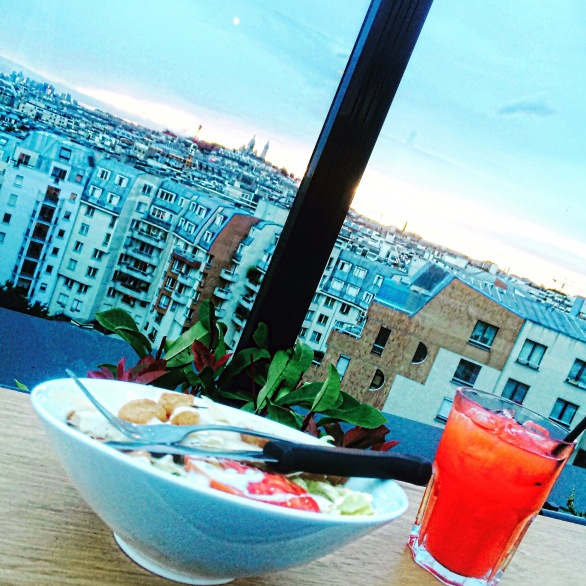 Rooftop Terrace at Generator Hostel Paris