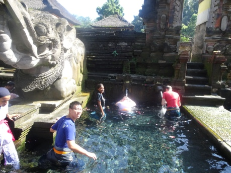Tirta Empul with my fellow IVHQers