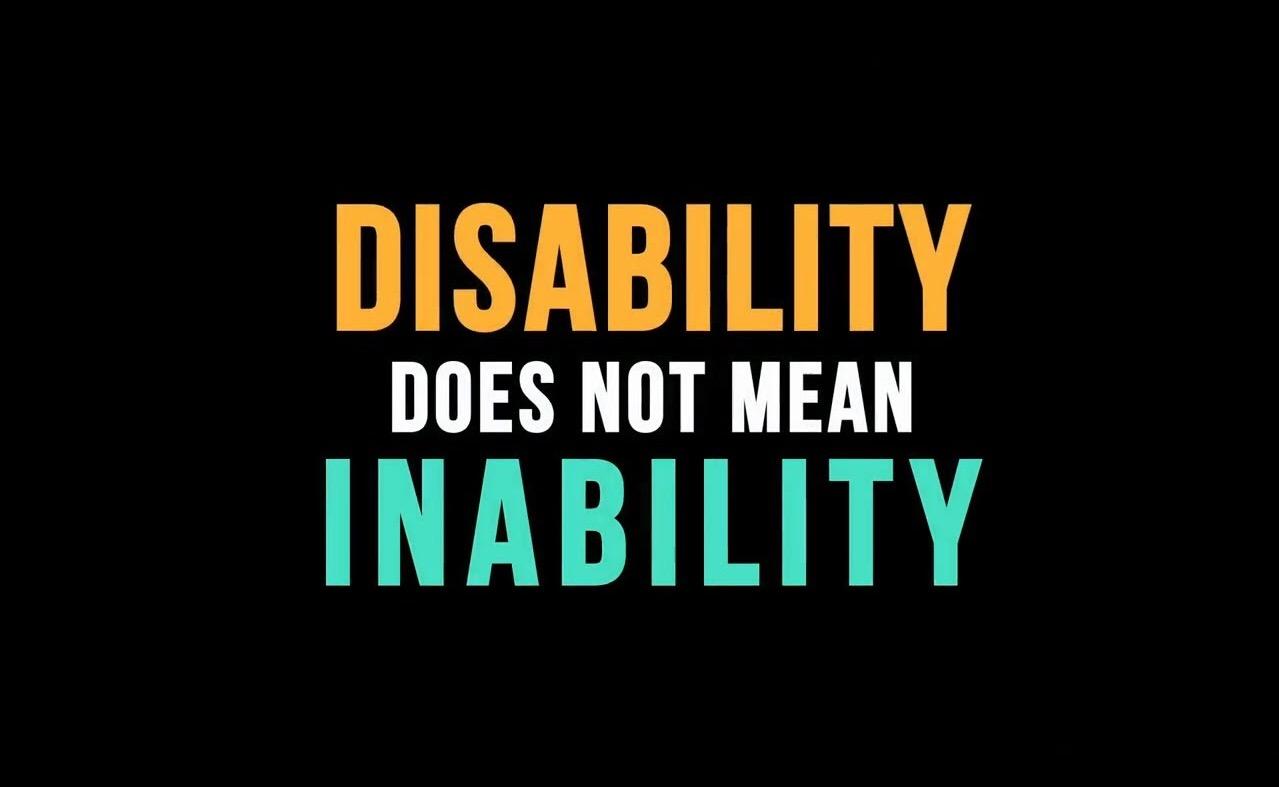 Dreams Bigger Than My Disability
